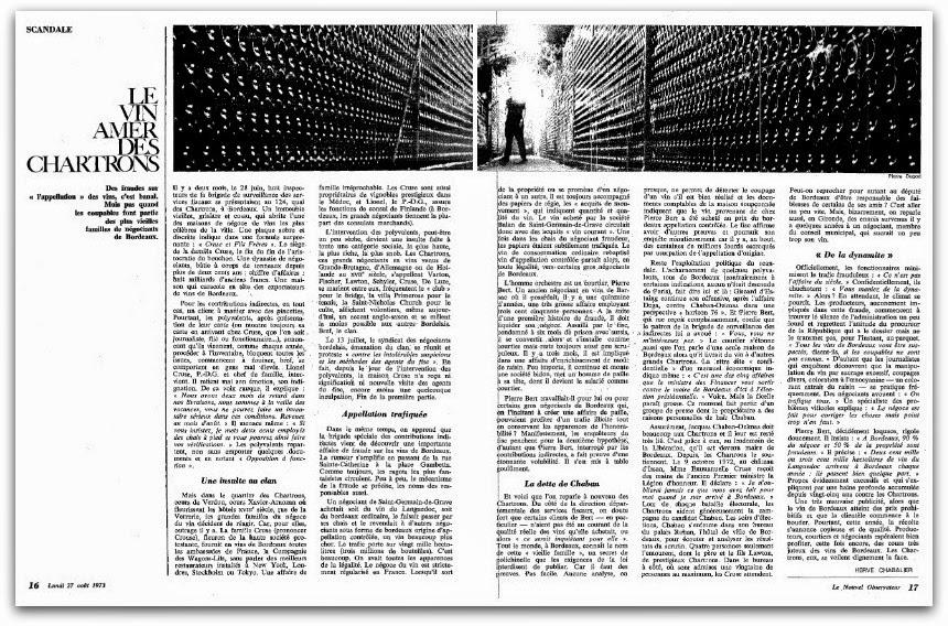Winegate » : le scandale qui secoua le monde du vin bordelais en 1973 - Le  Bordeaux Invisible