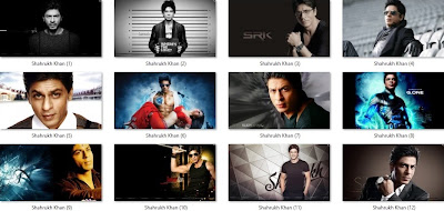Shahrukh Khan theme for Windows 7 / 8 / 8.1