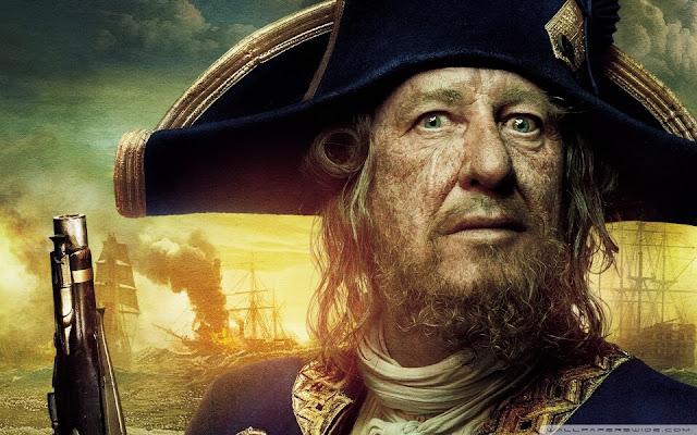 Karayip Korsanları Kaptan Barbossa