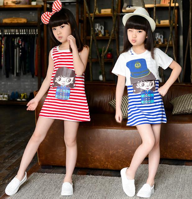 Tips Berpakaian Untuk Anak-Anak Agar Tampil Fashionable