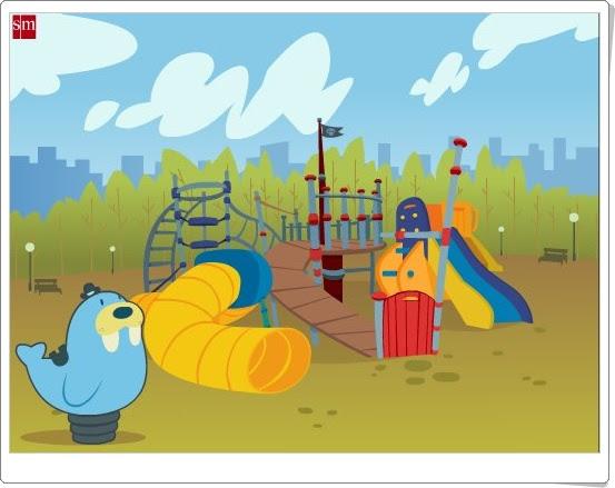 """""""El Parque de las Tic"""" (Juegos Multidisciplinares de Educación Infantil de 4 años)"""