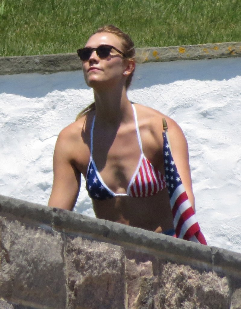 Gigi Hadid & Karlie Kloss Celebrate 4th of July
