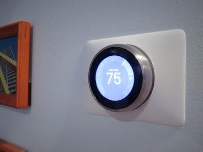 nest thermostat installed