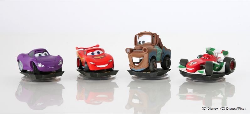 disney infinity new cars play set trailer images pixar post. Black Bedroom Furniture Sets. Home Design Ideas