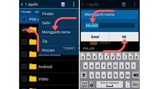 Cara Paling Aman Menyembunyikan Foto Video Tanpa Aplikasi di Android Cara Paling Aman Menyembunyikan Foto Video Tanpa Aplikasi di Android