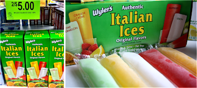 Italian Ice Reviews: Luigi's, Wyler's and Philly Swirl Butter, with a Side of Bread