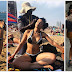More pictures of  Pearl Thusi at Barcelona in Spain