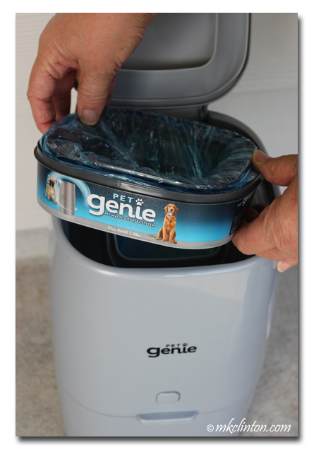 Pet Genie and its Refill insert