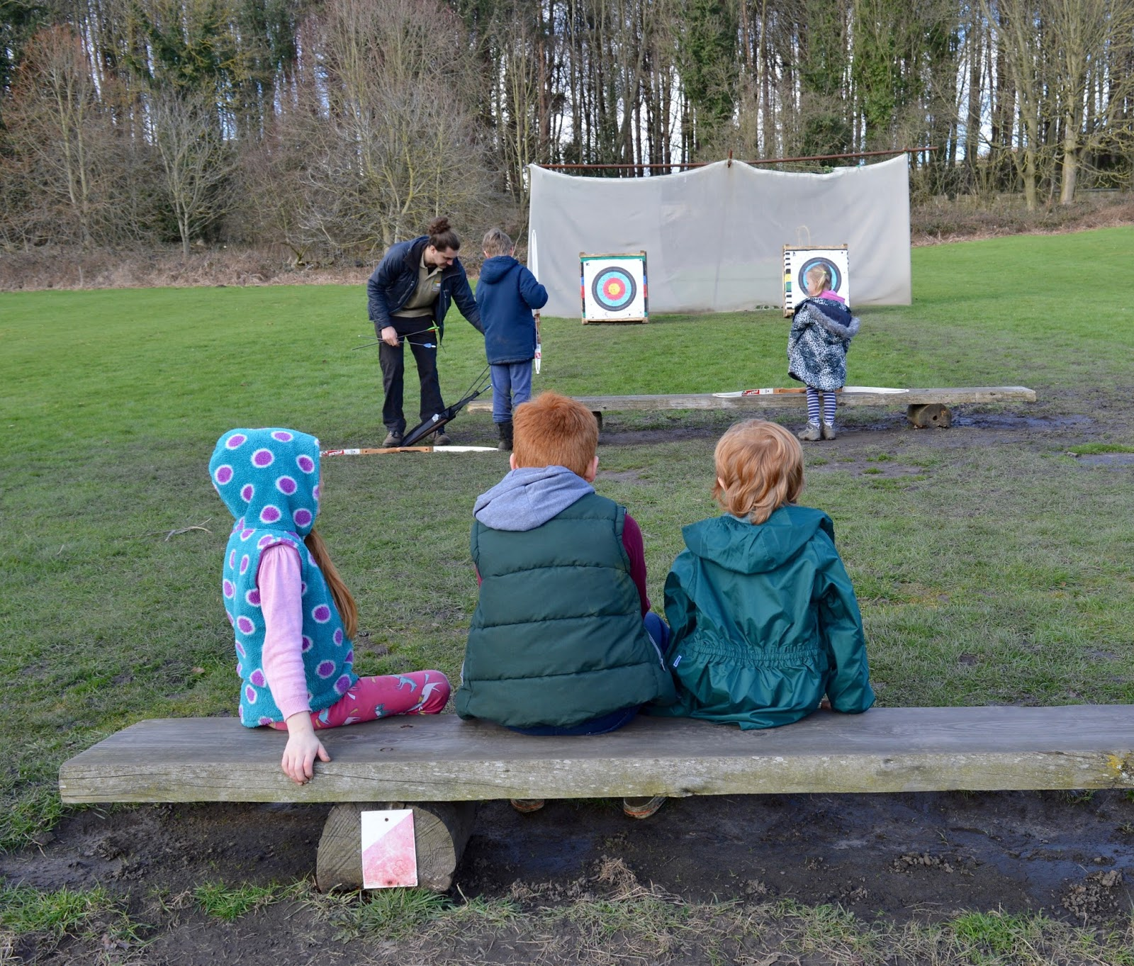 Beamish Wild | School Holiday Club & Activities in County Durham | North East England - archery safety breifing