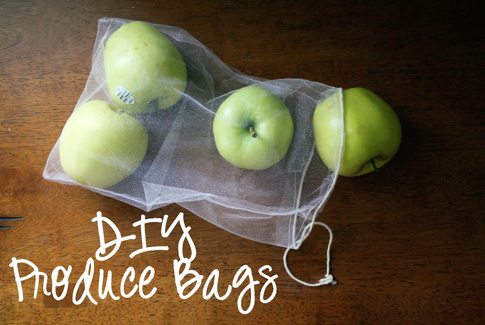 Diy Reusable Produce Bags