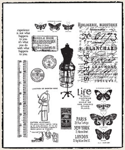 Simon Says Stamp Blog!: New Tim Holtz Stamps for 2012 and