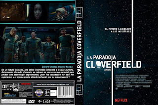 CARATULA LA PARADOJA COVERFIELD - THE CLOVERFIELD PARADOX - 2018