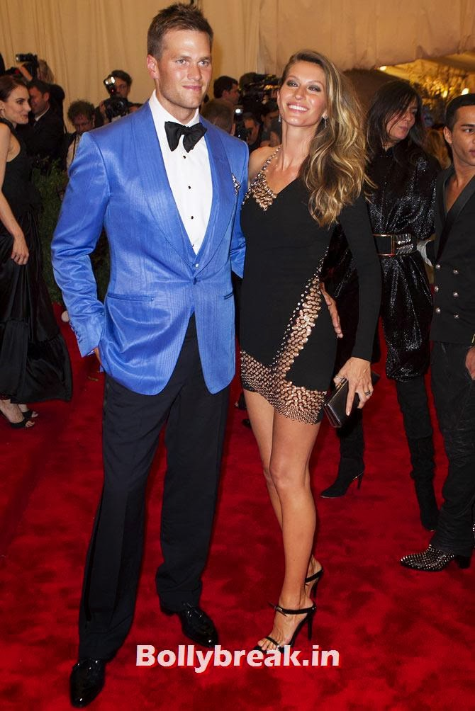 Tom Brady and Giselle Bundchen, The most stylish couples of 2013