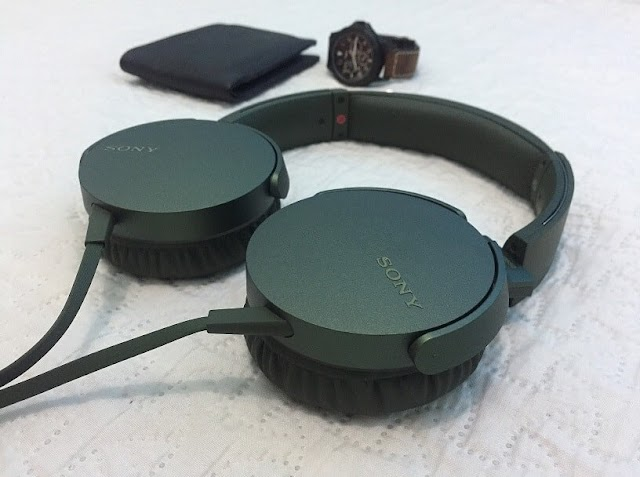 Sony Extra Bass MDR-XB550AP Headset Review