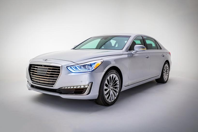 This Boy Is Hyundai S Luxury Flagship That Sold Under The Separate Genesis Brand G90 Will Be Competing At Top Of Premium