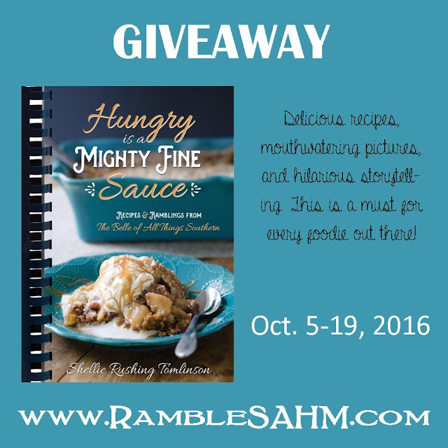 Hungry Is A Mighty Fine Sauce Giveaway