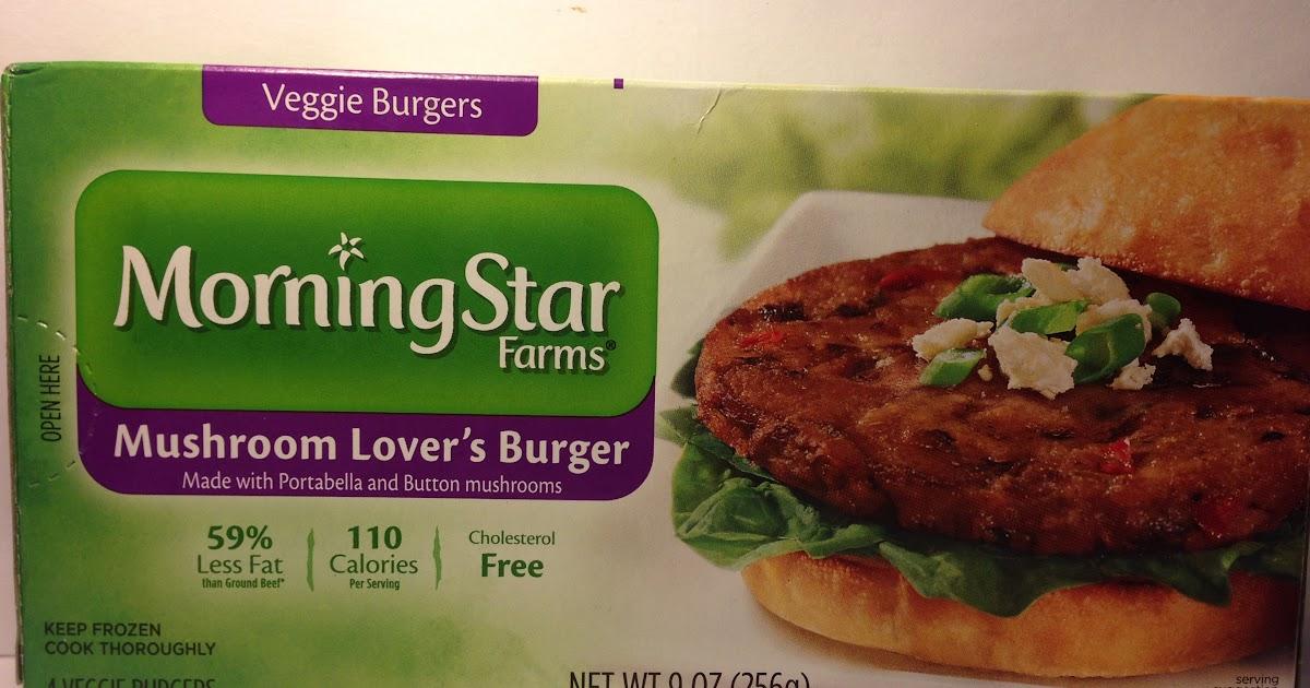 Crazy Food Dude Review Morningstar Farms Mushroom Lovers Veggie Burger