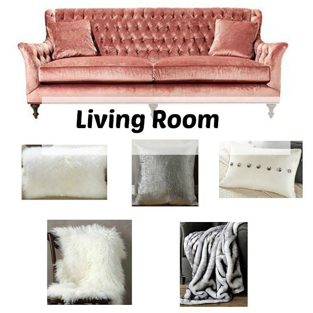 Simple ways to get your living room ready for guests this holiday season on FizzyParty.com
