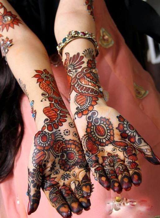 Henna Designs For Women: What's New In Mehndi Designs For Women From 2013 And 2014