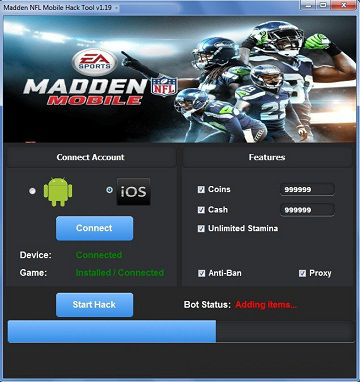 madden nfl mobile hack coins unlimited hkggame is the best