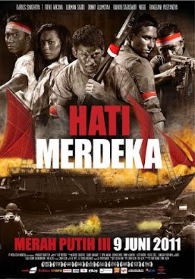 Poster Film Hati Merdeka (Merah Putih III)