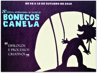 28o Festival Internacional de Teatro de Bonecos de Canela - Painel na Praça João Corrêa