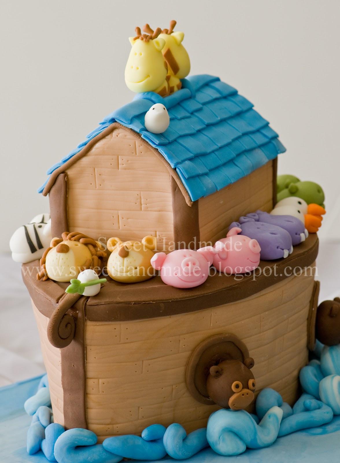 Sweet Cake Ark : sweet, Sweet, Handmade, Cookies:, Noah's
