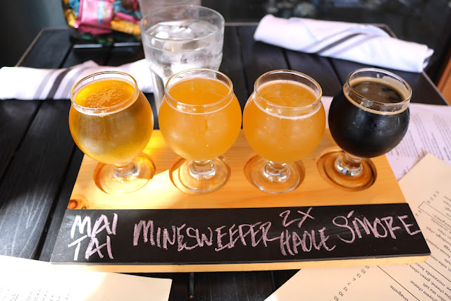 Alvarado Street Beer Flight