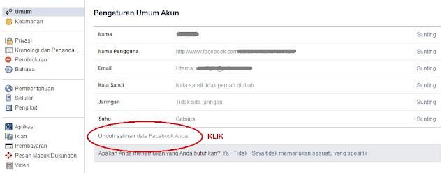 Halaman unduhan foto facebook