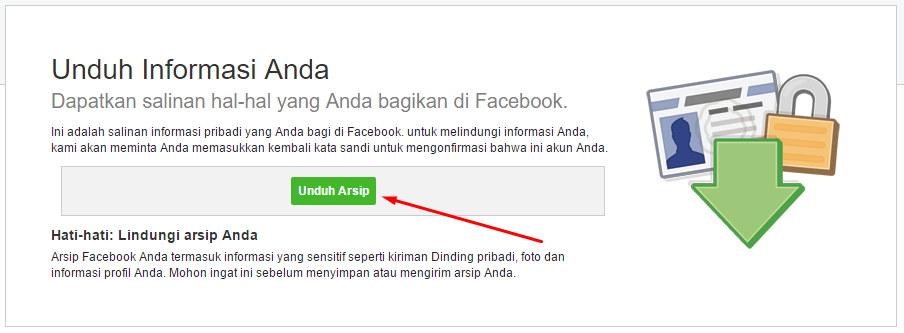 Download Informasi Data Dirimu Yang Ada Di Facebook
