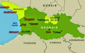 South Ossetia and Abkhazia