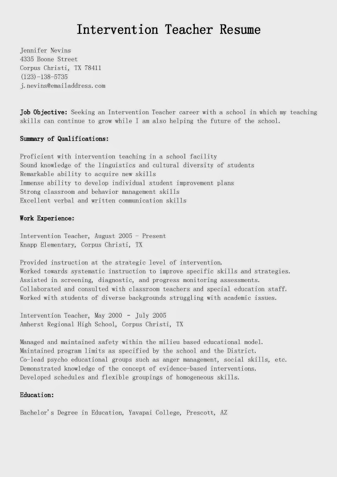 special education administrator resume objective resume skills fund administrator resume