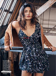 Priyanka Chopra looks fresh stylish young and beautiful for Elle Canada April 2018 ~ Exclusive Galleries 002