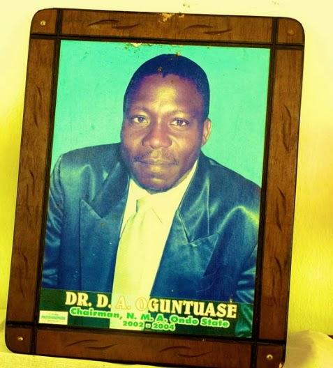 nigerian doctor burnt death