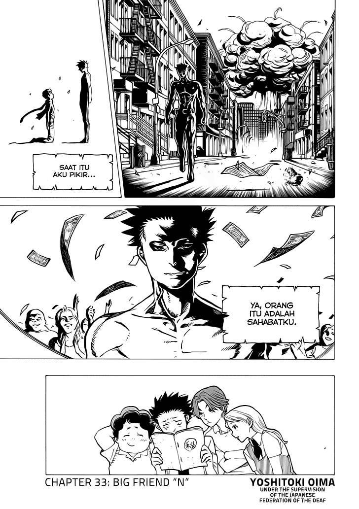 Koe no Katachi Chapter 33-5