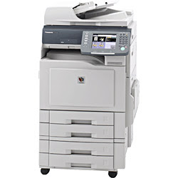 Start alongside the criterion features of copying in addition to network printing Panasonic WORKiO DP-C213 Driver Downloads