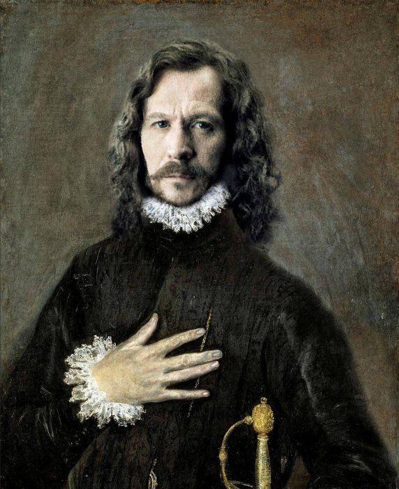 Fresh Pics: Renaissance Portraits of Modern Day Celebrities