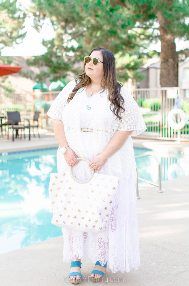 All White Everythaaang Plus Size Resort Wear Summer Style Our