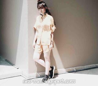 Foto Cantik Febby Rastanty Blink dengan Model Rambut Keren