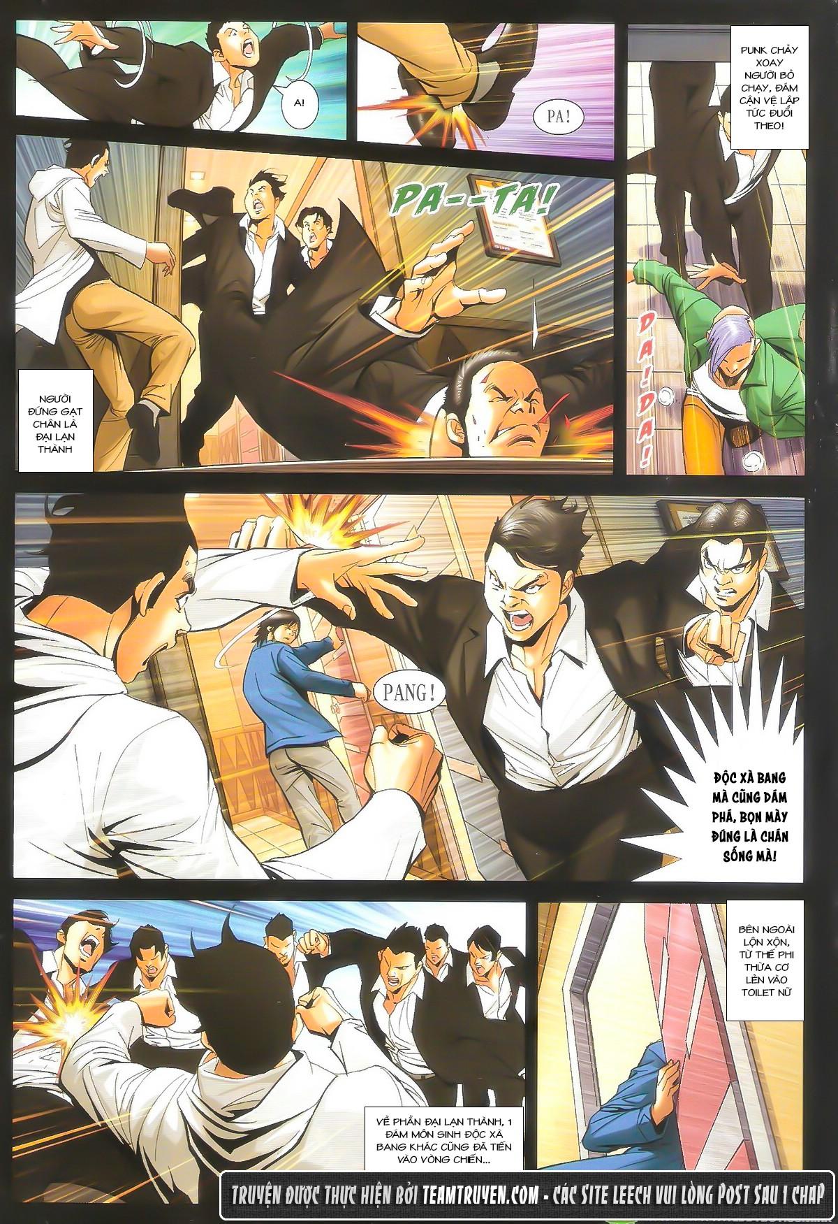Người Trong Giang Hồ chapter 1604: hồng hưng vs trường lạc trang 17