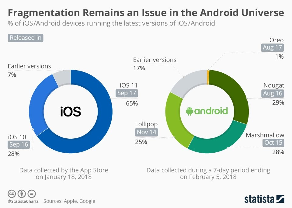 Fragmentation Remains an Issue in the Android Universe