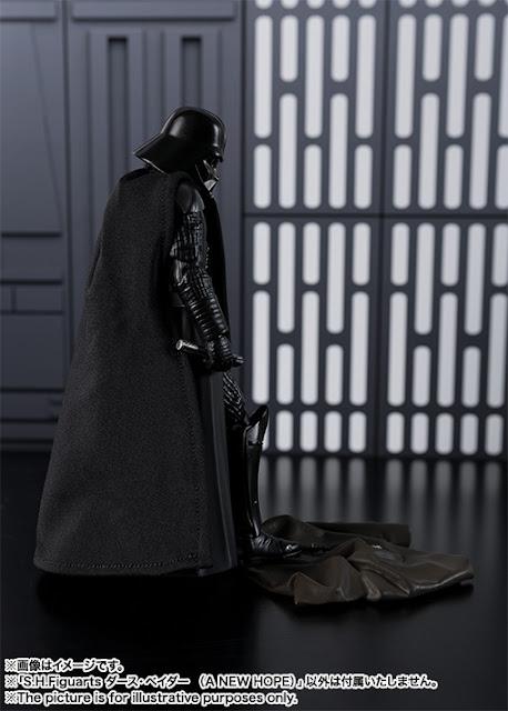 S.H.Figuarts dedicada a Star Wars: Darth Vader en su version The Last Hope.