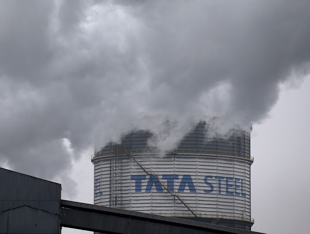 Image Attribute: A general view shows the Tata Steel works in Scunthorpe, northern England, in this October 27, 2015 file photo.  REUTERS/Andrew Yates/Files