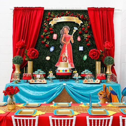 decoração festa elena avalor