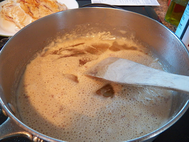 Cooking a roux