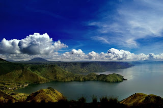 danau vulkanik terbesar se-Asia Tenggara masuk Guiness World Record