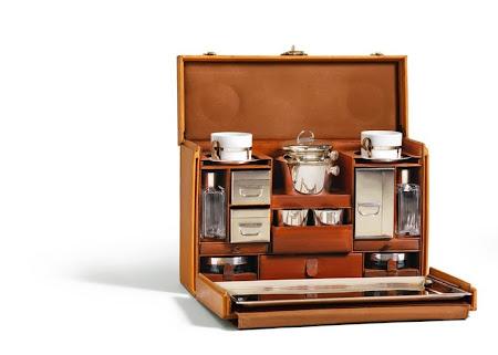 Maharaja Sayajirao Gaekwad's Tea Case by Louis Vuitton