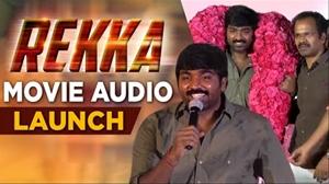 Vijay Sethupathi at Rekka Movie Audio Launch