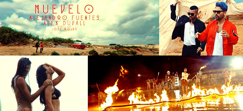 Alejandro Fuentes y Alex Duvall - ¨Muévelo¨ - Videoclip - Director: Jose Rojas. Portal Del Vídeo Clip Cubano