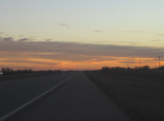 Slow Saskatchewan Sunset.